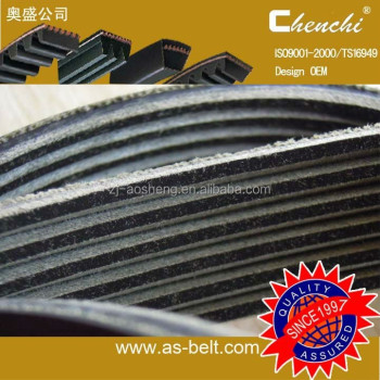 Rubber auto ribbed belt Aosheng PK Belt Auto Spare Parts