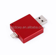 Alibaba wholesale OTG HD u disk USB flash drive,iFlash drive u disk for iPhone PC 8G/16G/32G64G bulk usb flash