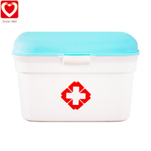 Portable waterproof household mini first aid kit for emergency medical treatment