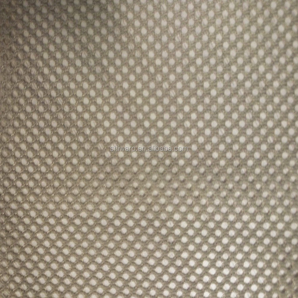 Wholesale garment lining 100 Polyester Knit Mesh Fabric 65gsm