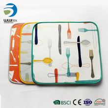 microfiber kitchen hot dish heat resistant table place mat
