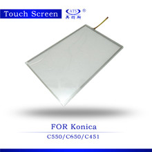Copier spare parts for Konica Minolta C451 C550 C650 touch screen with factory price