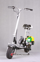 Best selling 49cc 2 stroke china made gas motor scooter