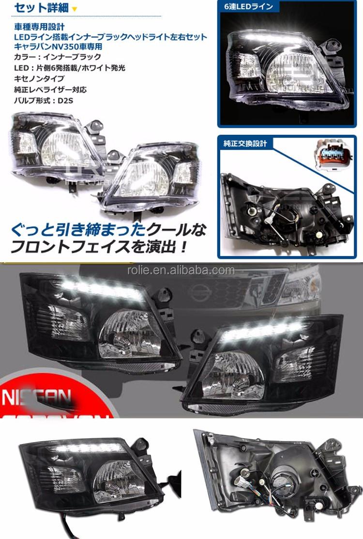 Auto accessoires Caravan NS Urvan NV350 E26 light auto parts HID LED ...