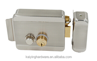 Electric door brass cylinder lock