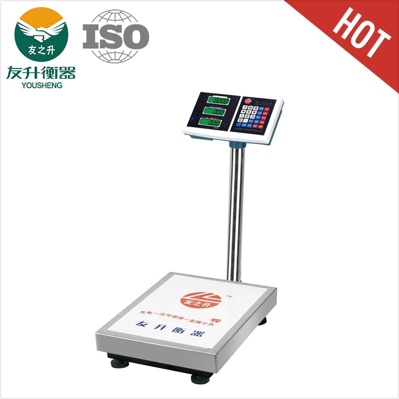 Digital Scales 100kg / 10g LCD Display,Green Backlight,Easy Operation
