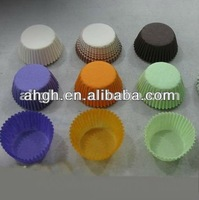 characteristic paper cups for baking