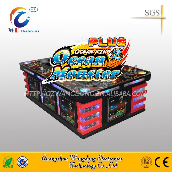 Orleans and Mississippi seafood paradise 3 plus arcade shooting fish video game