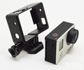Gopros BacPacs Frame for Heros 4 /3+/3, with Assorted Mounting Hardware