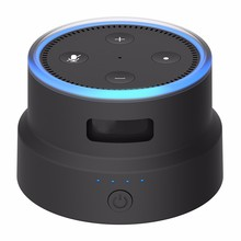 for amazon echo dot built-in power bank smatree/scootree