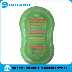 PVC Inflatable Green Beach Mattress/Air Bed/PVC Inflatable Floating