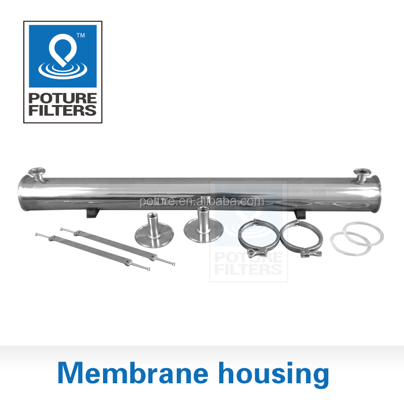 Stainless steel 316 4 inch membrane housing Dialysis water