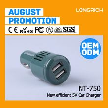 usb car adapter,universal 5v 2a car charger