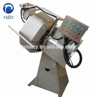 Full 304 stainless steel puffed food chips snacks flavoring seasoning machine