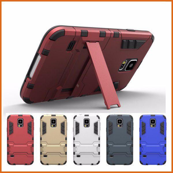 Factory price armor shockproof case for samsung galaxy s5, cell phone smartphone case online USA