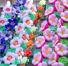 hot sale flower stage decoration