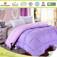 King Size Bed Printed Solid Colors Quilts