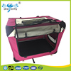 Pet product soft pet carrier folding fabric dog crate