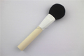 High Quality Black Goat Hair Plastic Handle Makeup Brush