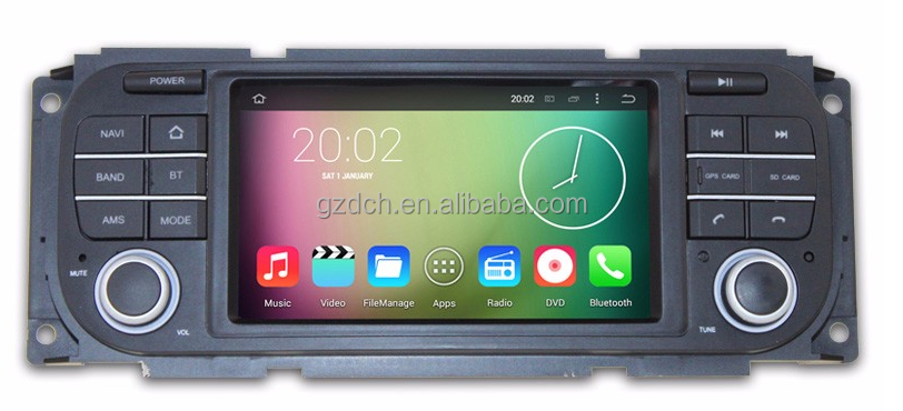 5 inch android car dvd gps for for Jeep Wrangler Jeep Liberty Jeep Grand Cherokee quad core 1G+16G WS-9805