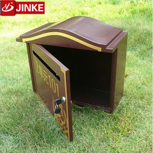 Wall Mounted Vintage Steel Squared Wall Hanging Post Office Box Countertop Mailbox