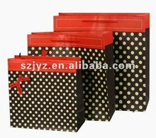 2013 Newest Polka Dot Paper Bag Printing