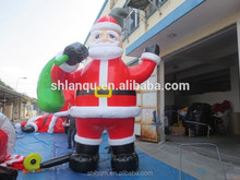 advrtising inflatable christmas old man model