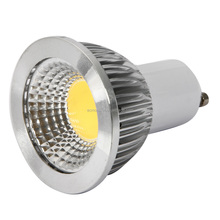 6W 240-270LM 85-265V 1COB GU10LED White Light LED Light Bulb