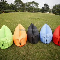 Inflatable Flocking Bean Bag Sofa Inflatable
