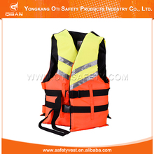 Professional manufacture safety protective life vest for fishing