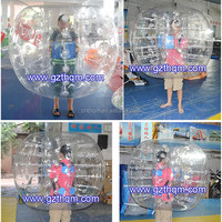 clear/transparent 1.5m diameter clear bouncy ball