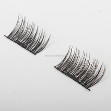 Magnetic Eye Lashes 3D Silk Reusable False Magnet Eyelashes