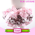 Trendy colorful baby girls underwear baby bloomers wholesale kids ruffle satin bloomers with bowknot