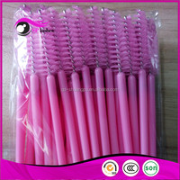 Machine Made Type and plastic Material eyelash extension tools plastic brushes mascara brushes