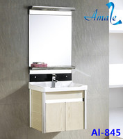Hot sale modern bathroom furniture and new design cheap aluminum bathroom vanity hotel vanity