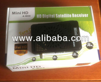 digital satellite receiver dvb s2 MINI HD A-BOX WITH AVATAR SHARING