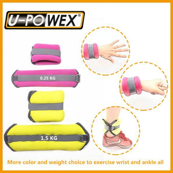 Polyester Velcro Straps exercise ankle weight