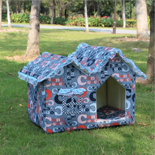 Manufacture Whoelsale Low Price Luxury Pet Dog Bed Fabric Dog House