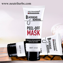 high quality natural cosmetic facial mask power peel off face mask bamboo charcoal charcoal black mask