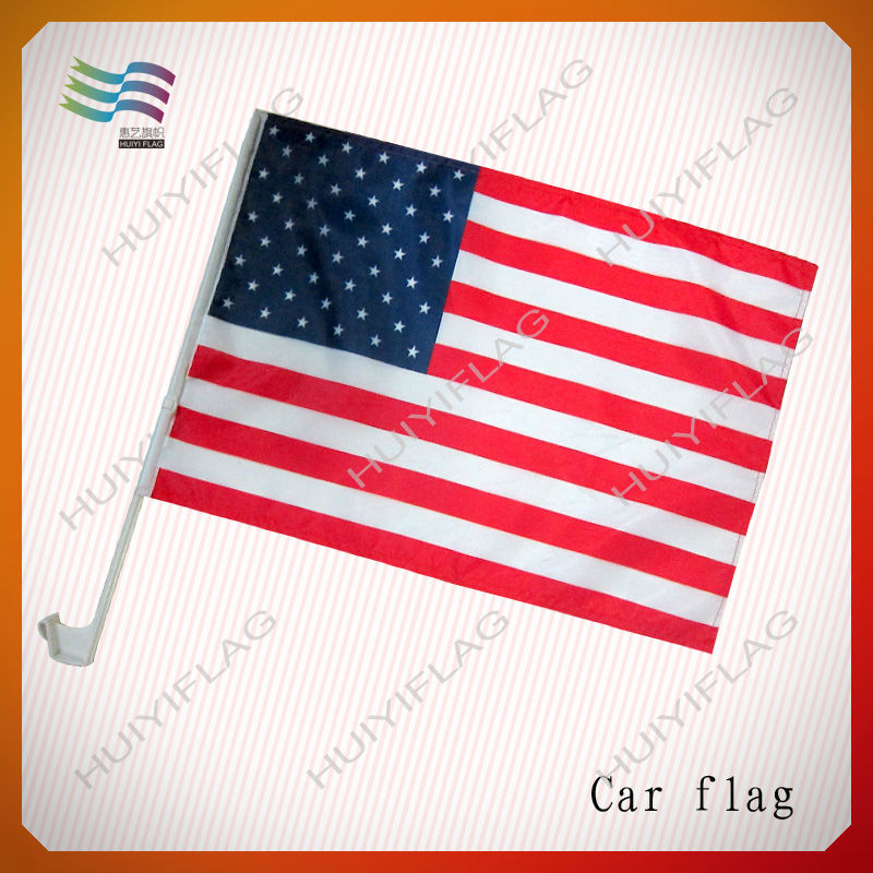 custom Obama car flags with holders