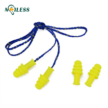 waterproof swimming ear plugs silicon reusable earplugs with TPE material
