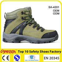 Guangzhou Fast lead time nubuck leather liberty good price safety shoes, shoes safety with steel toe cap for engineers SA-4201