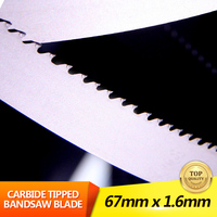 Tungsten Carbide Bandsaw Blade Metal Cutting Blade Carbide Tipped Band Saw Blade