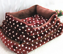 Direct factory best-selling footprint pet bed sofa and nest flannel dog bed
