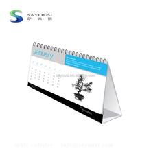 free sample mini english desk calendar /printable desk calendar 2018