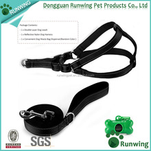 Best selling pet products heavy duty dog harness and leash set for medium dogs