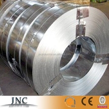 China Supplier Mill Price hotdipped galvanized Dx51d packing belt strap/steel strip/slit coil Q235