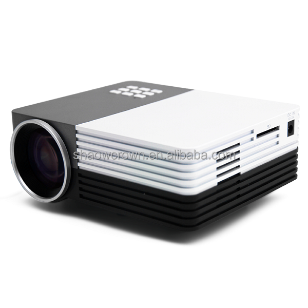 HOt sale LCD Style and Yes Home Theater Projector mini portable projector with wifi support mobile connect easily