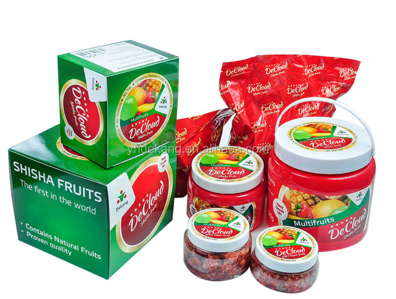China good cheap shisha molasses for glass shisha hookah - Multifruits Flavor