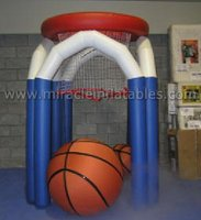 hot hoops basketball game,inflatable mini basketball hoop for kids M6022